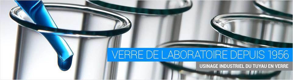 verre de laboratoire depuis 1956 usinage industriel du tuyau en verre