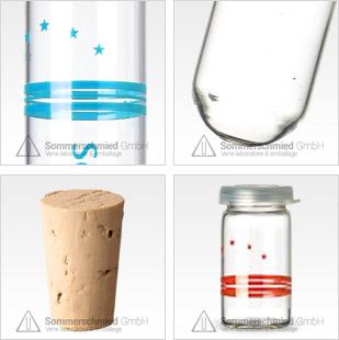 Sérigraphie sur verre, Impression individuelle